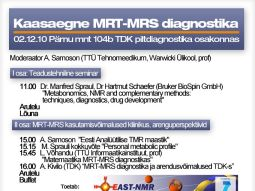 Modern MRT-MRS Diagnostics